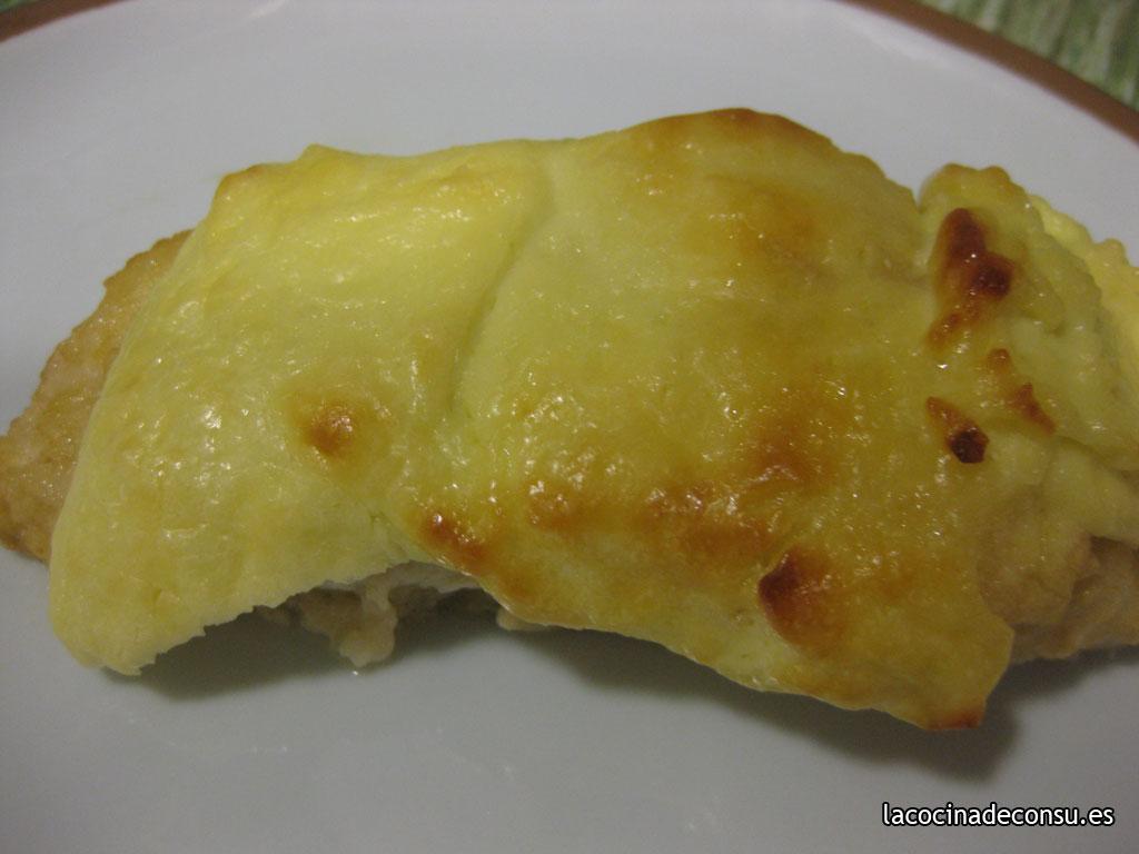 Bacalao con muselina de limón