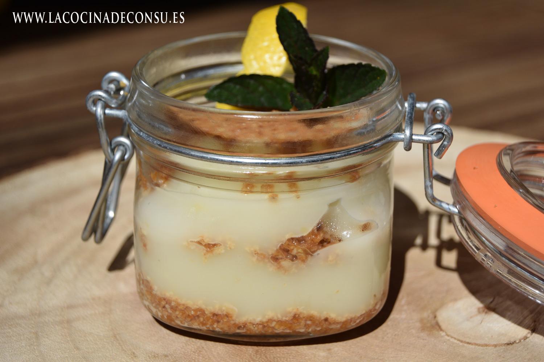 Vasitos de tarta de limón