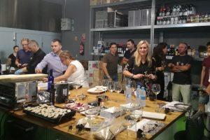 Participantes en la presentación de Foodhunter