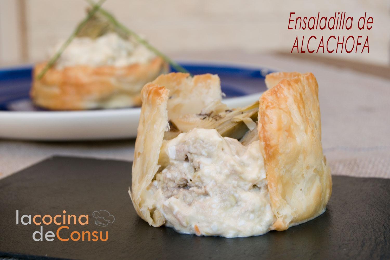 Ensaladilla de alcachofa