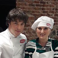 Primer premio del concurso Sí, chef! cocina con Helios