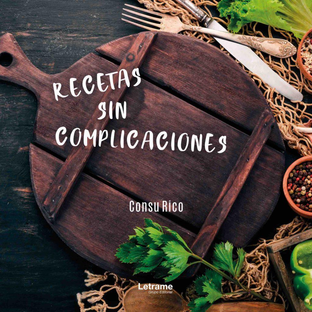 Imagen portada libro Recetas sin complicaciones