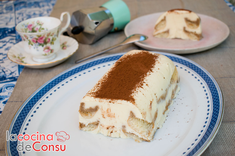 Tarta helada de tiramisú